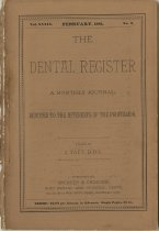 Image of The Dental Register - 0966.0026