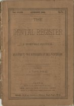 Image of The Dental Register - 0966.0032