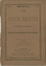 Image of The Dental Register - 0966.0038