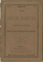 Image of The Dental Register - 0966.0040