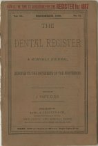 Image of dental register 12/1886
