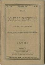 Image of The Dental Register - 0966.0057