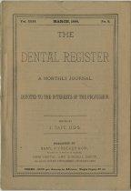 Image of The Dental Register - 0966.0062