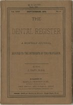 Image of The Dental Register - 0966.0068