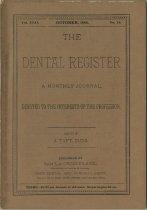 Image of The Dental Register - 0966.0069
