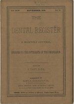 Image of The Dental Register - 0966.0070