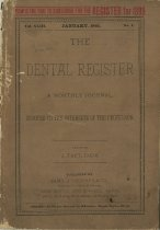 Image of The Dental Register - 0966.0072