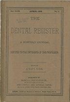 Image of dental register 04/1889