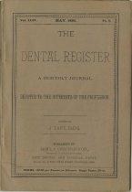 Image of The Dental Register - 0966.0087