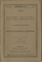 Image of The Dental Register - 0966.0091