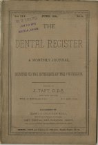 Image of The Dental Register - 0966.0099
