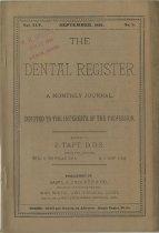Image of The Dental Register - 0966.0101