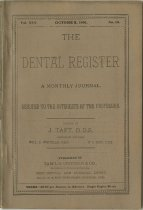 Image of The Dental Register - 0966.0102