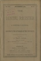 Image of The Dental Register - 0966.0103