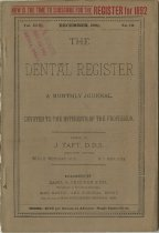 Image of The Dental Register - 0966.0104