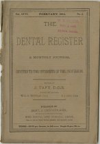 Image of The Dental Register - 0966.0106
