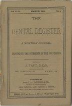 Image of The Dental Register - 0966.0107