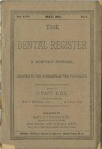 Image of The Dental Register - 0966.0109