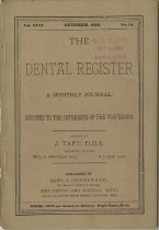 Image of The Dental Register - 0966.0114