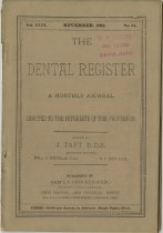 Image of The Dental Register - 0966.0115