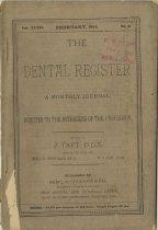 Image of dental register 02/1893