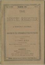 Image of The Dental Register - 0966.0130