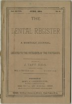 Image of The Dental Register - 0966.0133