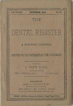 Image of The Dental Register - 0966.0137