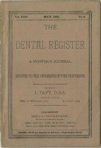 Image of The Dental Register - 0966.0144