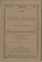Image of dental register 06/1895