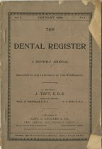 Image of The Dental Register - 0966.0152
