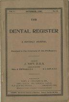 Image of The Dental Register - 0966.0161