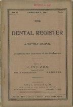 Image of The Dental Register - 0966.0165