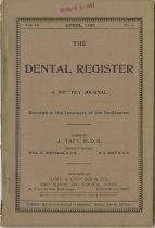 Image of The Dental Register - 0966.0167