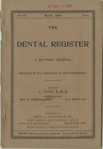 Image of The Dental Register - 0966.0168