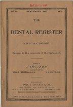 Image of The Dental Register - 0966.0172