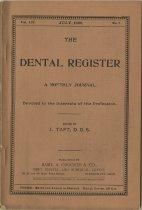 Image of The Dental Register - 0966.0182