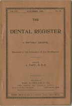 Image of The Dental Register - 0966.0185