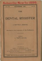 Image of The Dental Register - 0966.0187