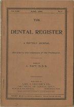 Image of The Dental Register - 0966.0193