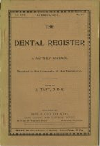 Image of The Dental Register - 0966.0197