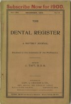 Image of The Dental Register - 0966.0199