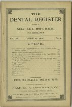 Image of The Dental Register - 0966.0203