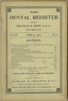 Image of The Dental Register - 0966.0205