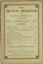 Image of The Dental Register - 0966.0208