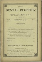 Image of The Dental Register - 0966.0213