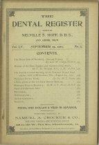 Image of The Dental Register - 0966.0220