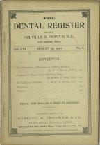 Image of The Dental Register - 0966.0231