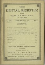 Image of dental register 09/1902