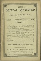Image of The Dental Register - 0966.0233